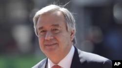 António Guterres lidera as votações