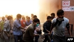 Vụ hỏa hoạn tại Bệnh viện AMRI khiến ít nhất 90 người thiệt mạng.