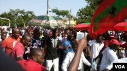 Manifestação da UNITA contra CNE, 3 de Junho