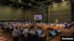 Entre los temas de la última jornada de la Asamblea General figuran Derechos Humanos y democracia, y seguridad multidimencional.