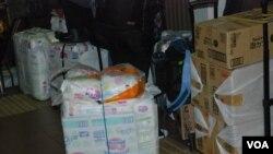 水貨客攜帶的貨品,以外國進口的嬰幼兒用品及食品為主