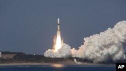 일본 무인보급선 HTV 발사 장면