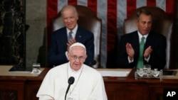Papa Francisco no Congresso