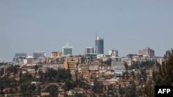 Une vue générale du centre-ville de Kigali, le 26 mai 2021.