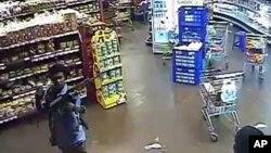 据称图片中在商店中的人为纳布汉,是四名袭击肯尼亚商厦的人之一