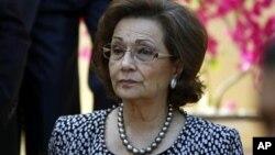 سوزان مبارک- همسر رئیس جمهور سابق مصر