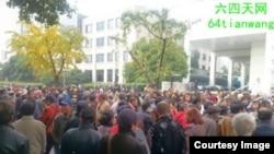 数千上海访民星期三呼吁司法公正