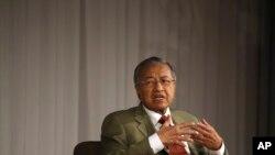 Mantan perdana Menteri Malaysia Mahathir Mohamad