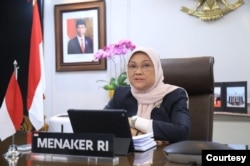 Menteri Ketenagakerjaan (Menaker) Ida Fauziyah. (Foto: Kemnaker)