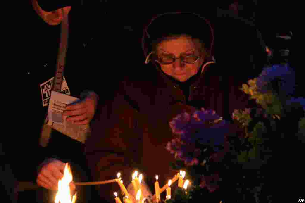 В Украине почтили память жертв голодоморов