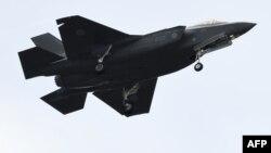 일본 항공자위대 소속 F-35 전투기(자료사진).
