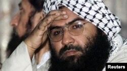 کالعدم جیش محمد کے سربراہ مسعود اظہر۔ فائل فوٹو