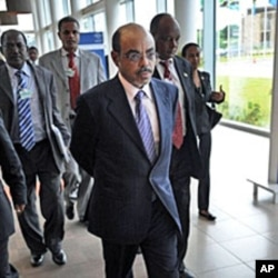 Ethiopian PM Meles Zenawi (File Photo)
