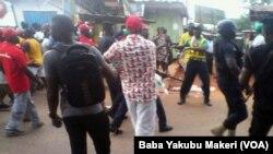 Yamutsi a gaban gidan dan takarar jam'iyyar NPP a Ghana