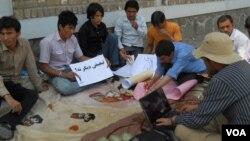 اعتصاب غذایی بعضی از دانشجویان در هرات در حمایت از اعتراض دانشجویان در کابل