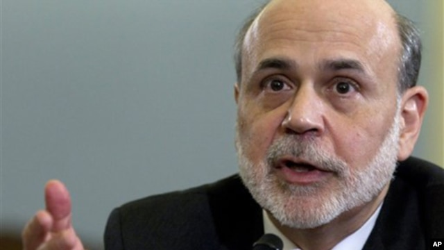Federal Reserve Chairman Ben Bernanke testifies on Capitol Hill in Washington, before the House Budget Committee,  February 2, 2012,