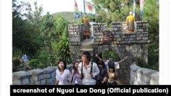 """Từ tháng 8/2011, báo Người Lao Đông đã nêu quan ngại về """"tiểu Vạn Lý Trường Thành"""" ở đồi Mộng Mơ, gần Đà Lạt"""