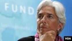 La directora del FMI, Christine Lagarde, demandó una rápida acción europea.