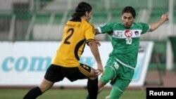 Le Syrien Firas al-Khatib lors d'un match au Koweit, le 19 mai 2009.