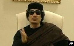 Dans un message audio, Mouammar Kadhafi s'est dit hors d'atteinte des bombes de l'OTAN
