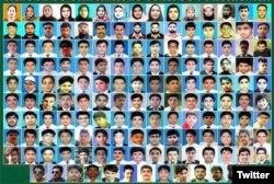 سانحہ اے پی ایس میں مرنے والے افراد کی تصاویر۔