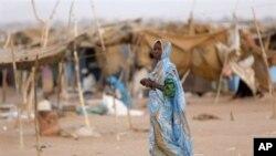 Le camp d'Abou Shouk dans le Nord du Darfour