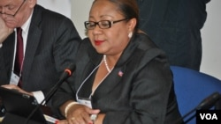 La ministra de Salud Pública, Florence Duperval Guillaume, ha sido nombra primer ministra interina de Haití.