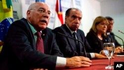 """Los cancilleres de Argentina, Brasil, Uruguay y Paraguay anunciaron la aplicación de dicho protocolo ante la """"falta de separación de poderes"""" en el país caribeño."""