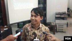 Direktur LBH Pers Ade Wahyudin. (Foto: Sasmito/VOA)