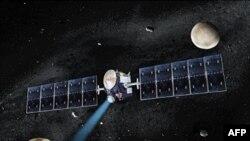 Umetnički prikaz svemirske sonde Don
