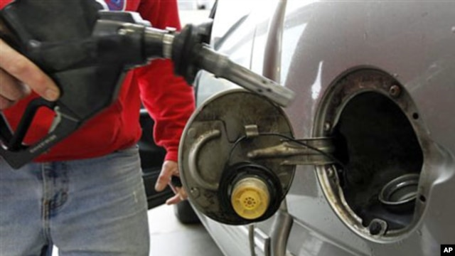 Gas prices have jumped in recent months, affecting most Americans (File)