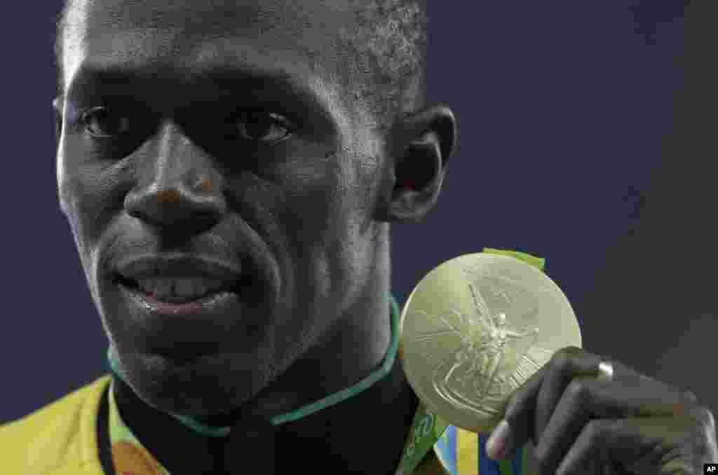 جامائیکایي لوبغاړی، یوسین بولت چې د نړۍ د چټک نارینه لقب لري، د برازیل په المپیک کې د سل متره ځغاستې په سیالۍ کې هم وتوانید د سرو زرو مډال وګټي.