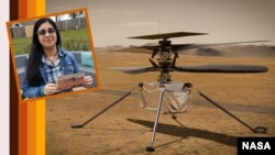 Shown in the upper left part of this image is Vaneeza Rupani, a junior at Tuscaloosa County High School in Northport, Alabama. She came up with the name Ingenuity for NASA's Mars Helicopter. (Photo Credits: NASA/JPL-Caltech/NIA/Rupani Family)