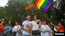 Cuộc tuần hành Viet Pride được sự bảo trợ của các đại sứ quán Hà Lan, Canada và Hoa Kỳ, của các tổ chức phi chính phủ địa phương và quốc tế, cũng như các tổ chức bênh vực nhân quyền.