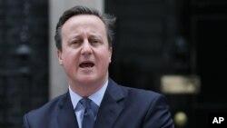 Глава британського уряду Дейвид Камерон у Лондоні оголошує дату референдуму.