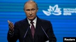 Presiden Rusia, Vladimir Putin (foto: dok).