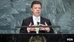 El mandatario de Colombia, pidió en su discurso en la ONU que se acepte a su país como miembro del Consejo de Seguridad.