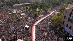 У місті Алеппо проходив велелюдний мітинг на підтримку президента Сирії Башара аль-Асада