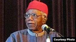 Novelist Chinua Achebe