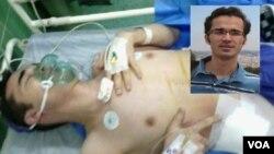 یکی از کلیه های امید کوکبی که در زندان به سرطان مبتلا شده، خارج شده است.