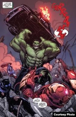 Komik terbaru Marvel hasil karya Ario Anindito (dok: Ario Anindito/Marvel Comics)