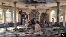 مسجدی که در قندوز افغانستان هدف حمله انتحاری قرار گرفت - جمعه ۱۶ مهر ۱۴۰۰