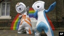 2012年倫敦奧運會獨眼怪獸吉祥物