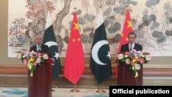 Pakistan Foreign Minister Khawaja Asif Visit China