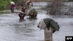 Lụt trong tỉnh Sindh của Pakistan