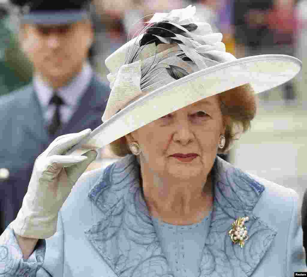 برطانیہ کی سابق وزیراعظم مارگریٹ تھیچر کی یادگار تصاویر