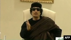 Libijski lider Moamer Gadafi