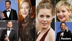 Para aktor dan aktris Hollywood.