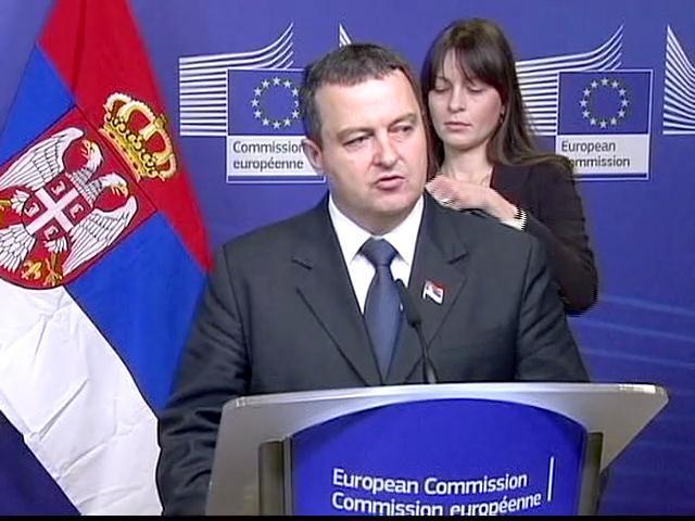 Dačić u Briselu: Srbija nikad bliža početku pregovora