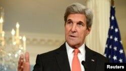 FILE - U.S. Secretary of State John Kerry, pictured in Washington, Oct. 7, 2016, will become the first secretary of state and the most senior U.S. official ever to visit Antarctica.
